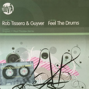 "Rob Tissera & Guyver - Feel The Drums (12"") (EX/EX)"